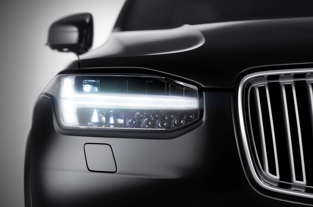 Volvo Xc90 Led Headlight Fractal Engineering Product Design For